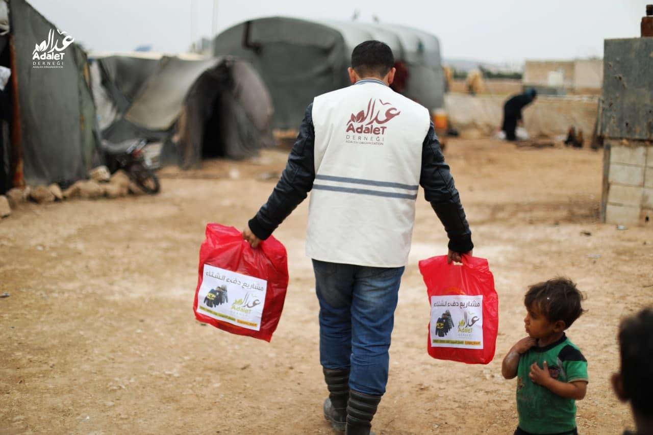 """منظمة عدالة و بالتعاون مع هيئة الكوارث والطوارئ التركية """"آفاد"""""""